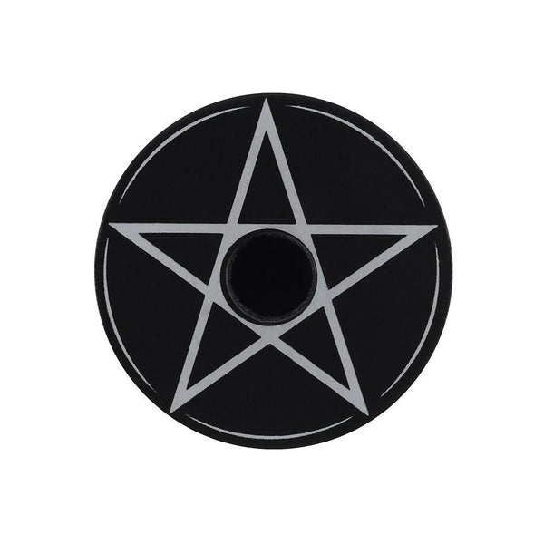 Spell Candle Holder - Pentagram