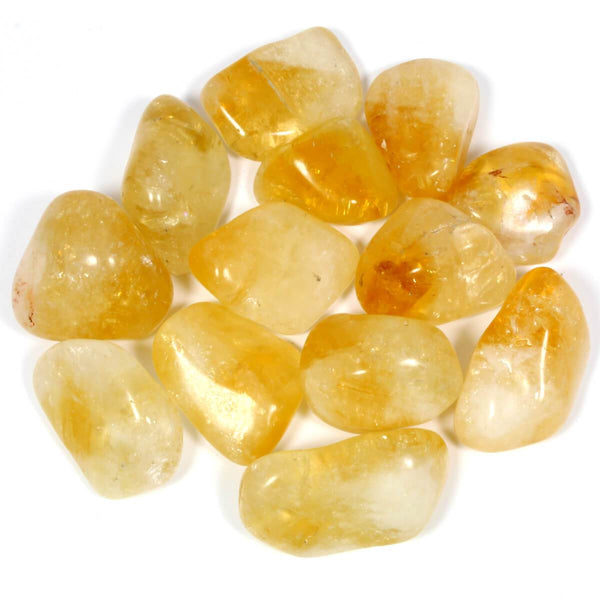 Citrine Polished Tumblestone Healing Crystals
