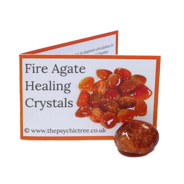 Fire Agate Crystal & Guide Pack