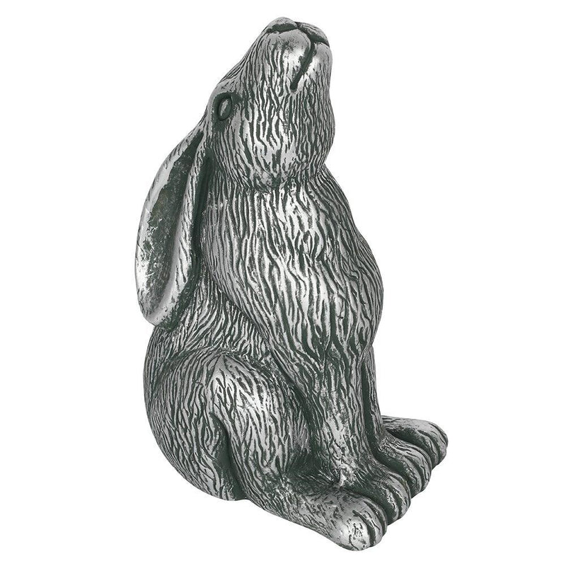 Moon Gazing Hare Ornament (Silver)