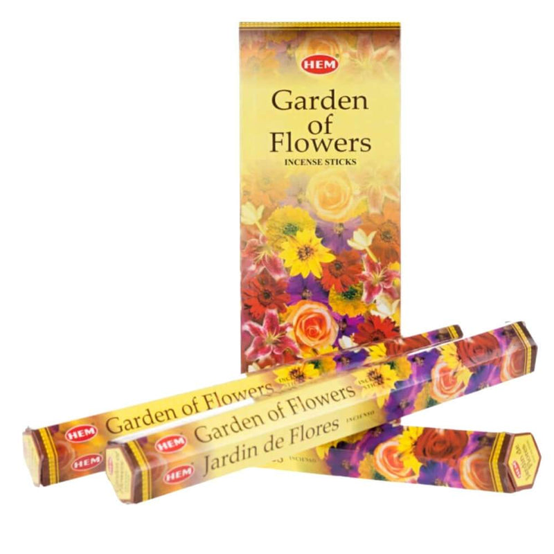 Hem Incense Sticks - Garden Of Flowers