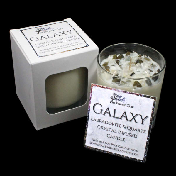 Galaxy - Crystal Infused Scented Candle