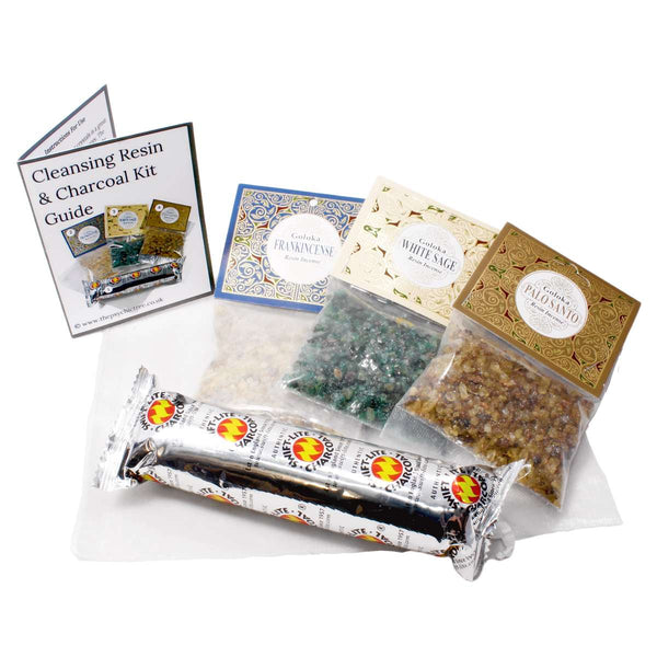 Cleansing Resin & Charcoal Kit