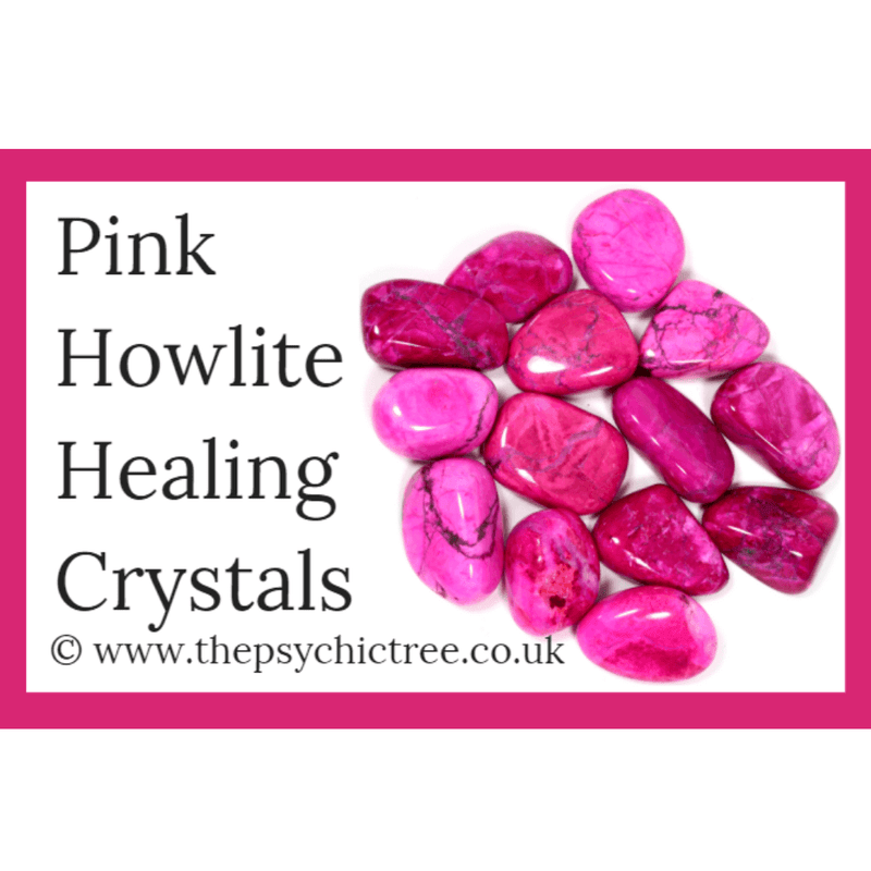 Pink Howlite Guide Book