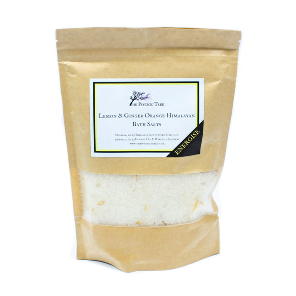 Energise - The Psychic Tree Himalayan Bath Salt Blend (500g)