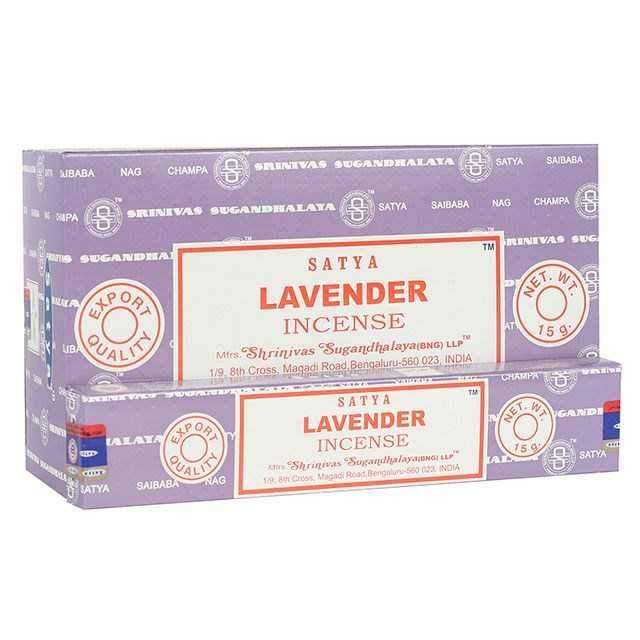Lavender - Satya Incense Sticks