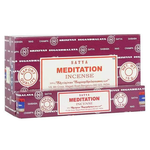 Meditation - Satya Incense Sticks