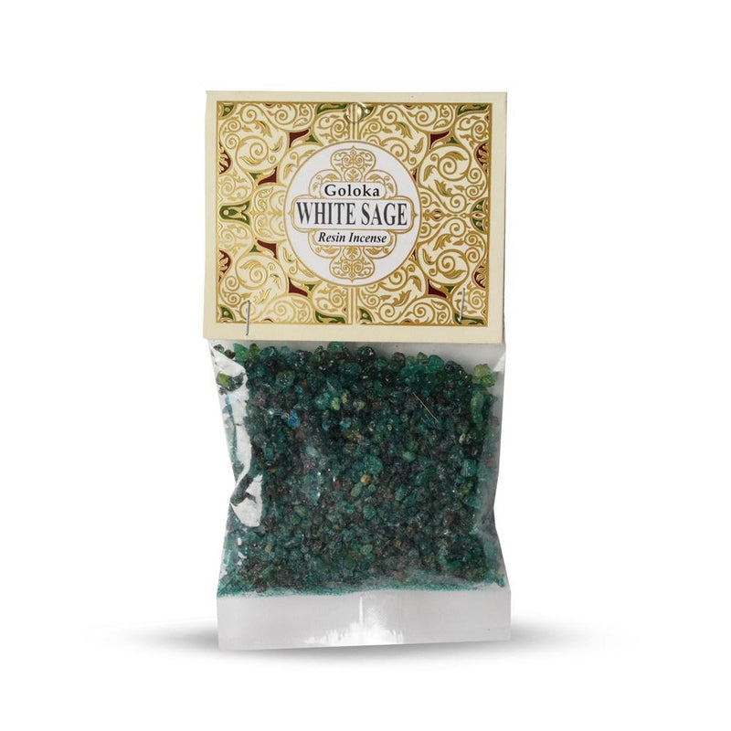 Goloka White Sage Resin (30g)