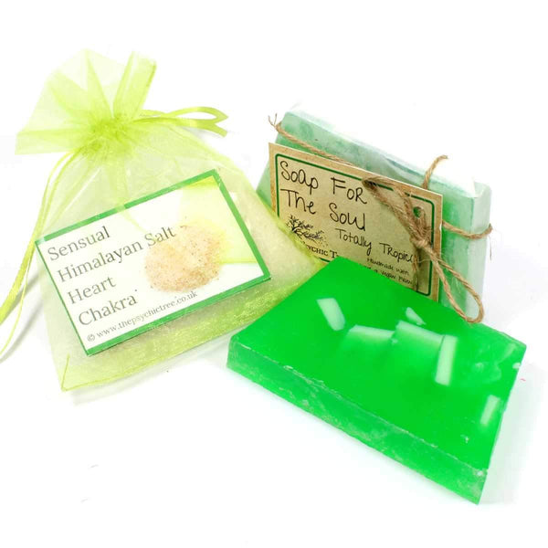 Heart Chakra - Salt & Soap Pack
