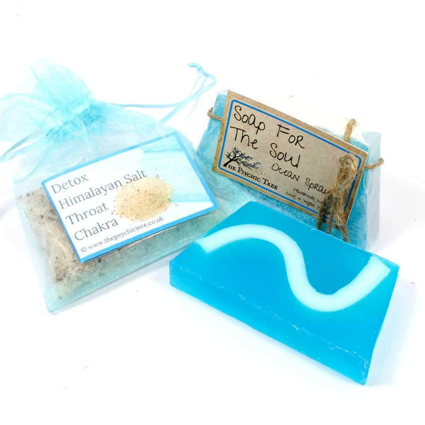 Throat Chakra - Salt & Soap Pack