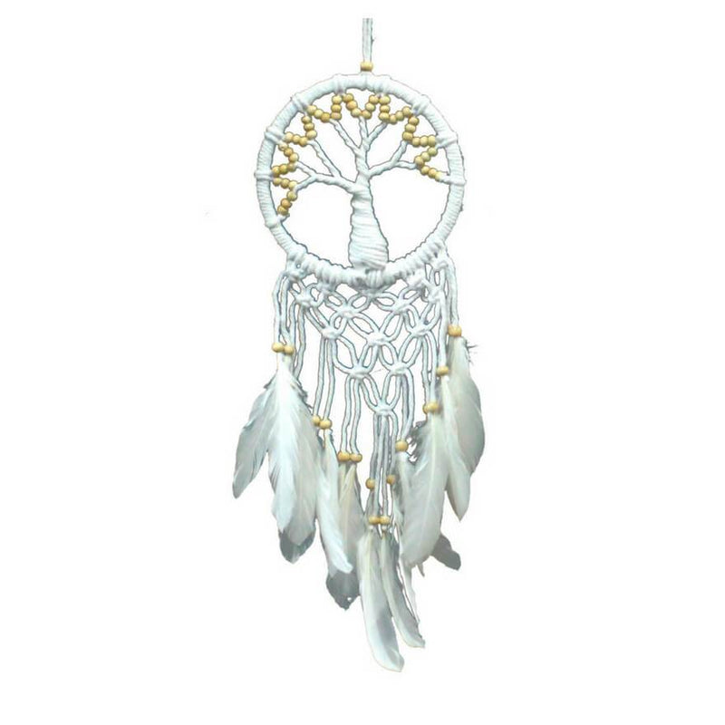 Tree of Life Dreamcatcher (16cm) - Natural