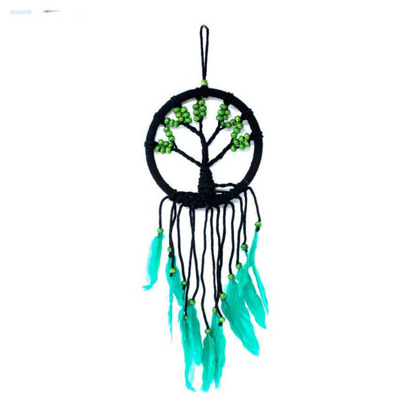 Tree of Life Dreamcatcher (16cm) - Green