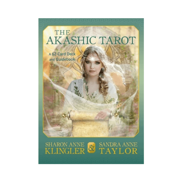 The Akashic Tarot : A 62-Card Deck and Guidebook by Sandra Anne Taylor