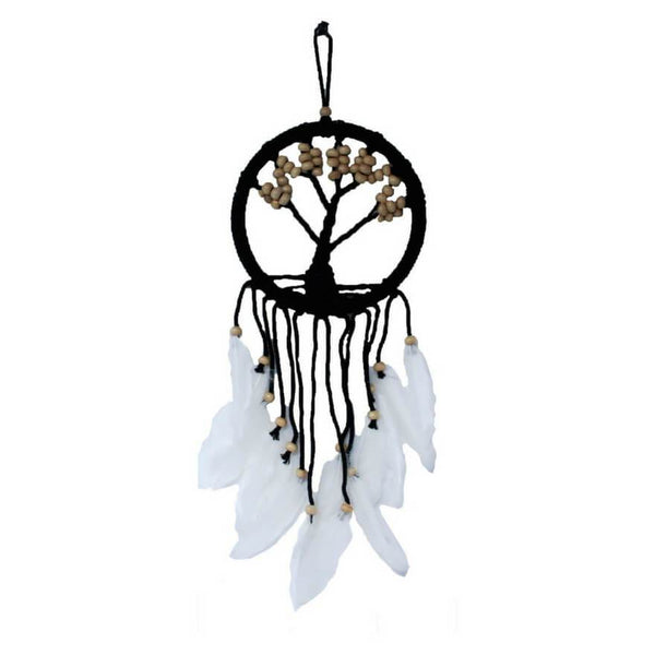Tree of Life Dreamcatcher (16cm) - White