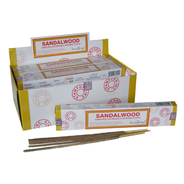 Sandalwood Masala - Stamford Incense Sticks