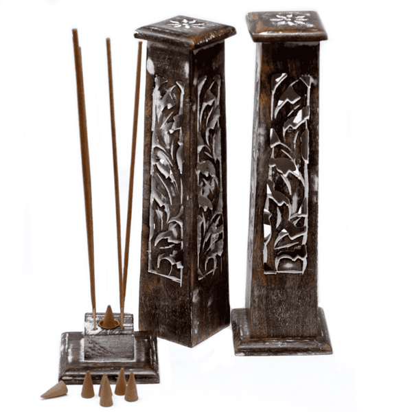 Tapered Design Smoke Incense Tower