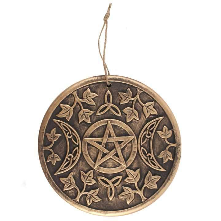 Goddess Triple Moon Plaque