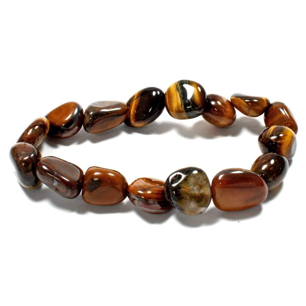 Gold Tiger's Eye Tumblestone Bracelet