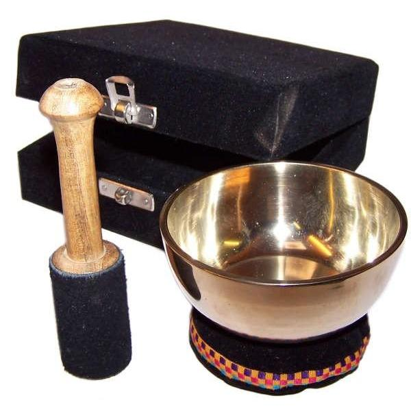 Brass Singing Bowl Gift Set