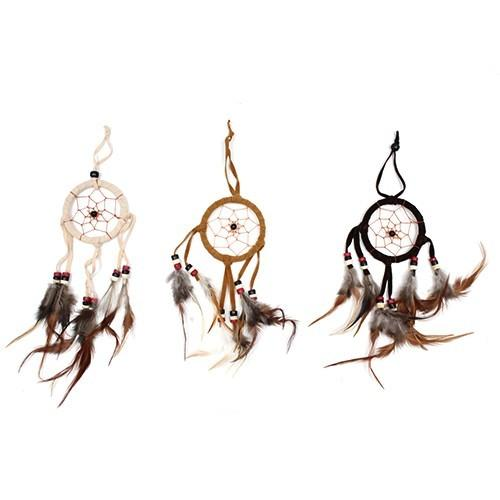 Small Bali Dreamcatcher - Coffee