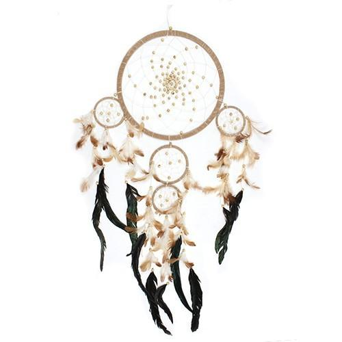 Large Bali Dreamcatcher - Cream