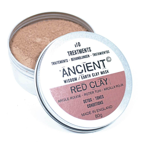 Anti-Inflammatory Red Clay Face Mask