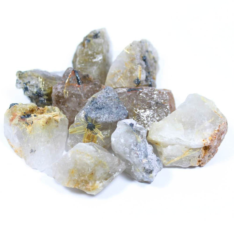 Rutilated Quartz Rough Crystals