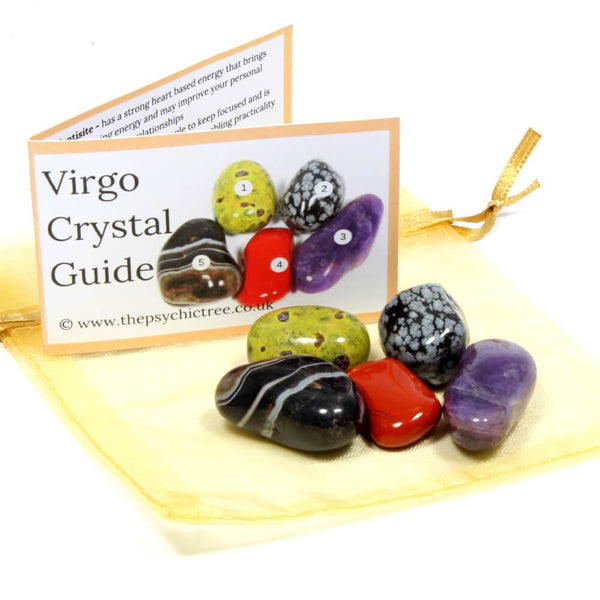 Virgo - Sign Of The Zodiac Healing Crystal Pack