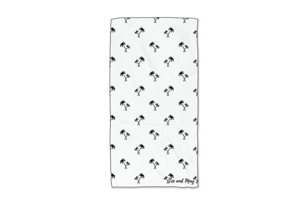 Sand Free and Light Weight Beach Towel | Palm Tree