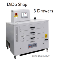 DTG -  CHIOSSI E CAVAZZUTI DiDo SHop 3 Drawer Dryer (Single Phase)