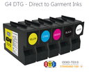 G4 DTG Yellow (Y) Ink Cartridge (200ml)