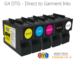 G4 DTG White (W) Ink Cartridge (Type B-200ml)