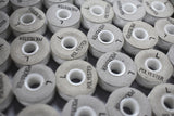Pre-Wound Polyester Bobbins: White Box of 144