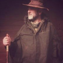 Waxed Cotton Rain Cape