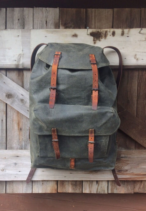 Vintage Swiss Army Patrol Pack