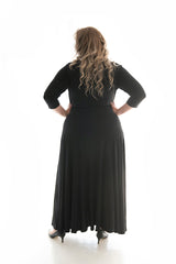 PENNY LANE MAXI DRESS - BLACK