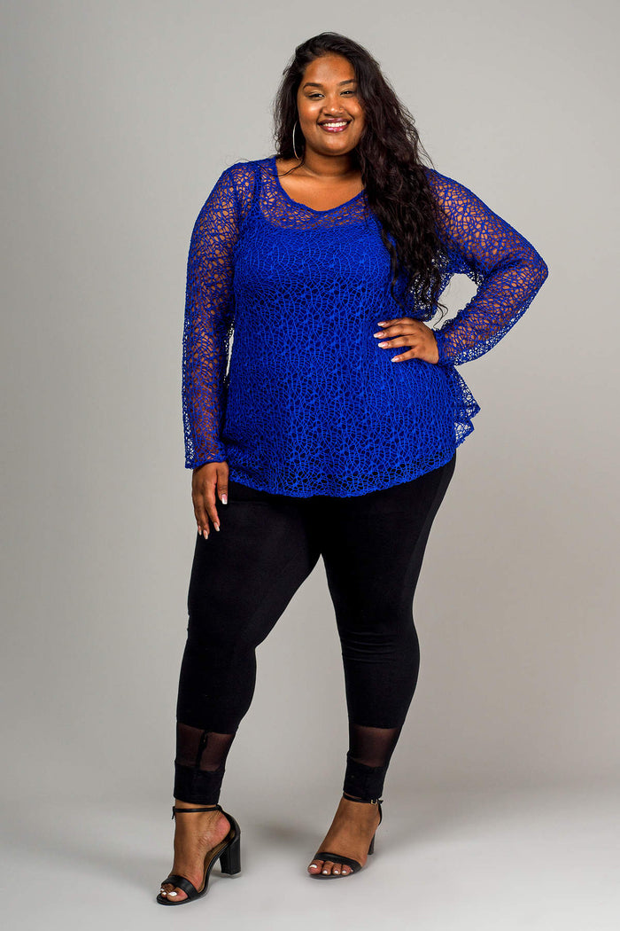LILIANA TOP - COBALT
