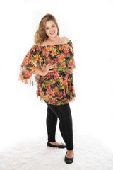 SOPHIA LONG LENGTH TOP WITH LONG SLEEVE