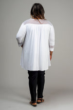 LUCY TOP - WHITE