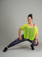 FULL LENGTH ACTIVE LEGGINGS - MARBLE PRINT