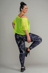 TANGO CROP TOP - LUMO YELLOW