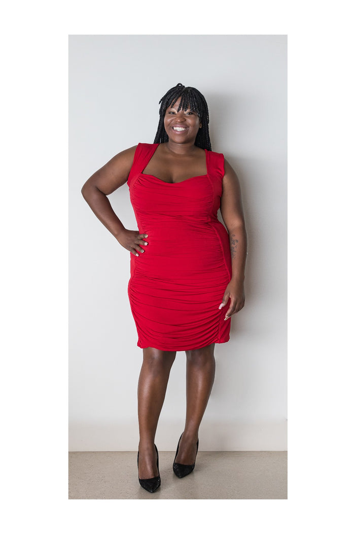 WILDFIRE BODYCON - RED