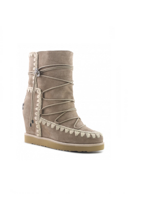 Bota MOU French toe eskimo lace-up