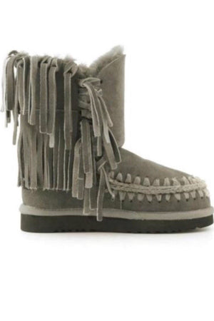 Botas MOU Eskimo Sneaker With Fringes