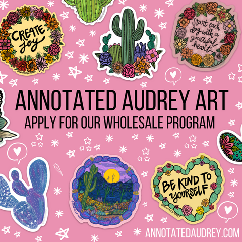 Annotated Audrey Art Wholesale Program Application