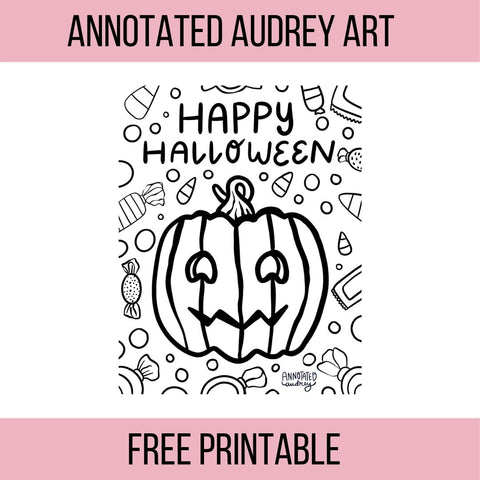 Printable- Halloween Coloring Pages