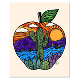 Art Print - Apple Sunset