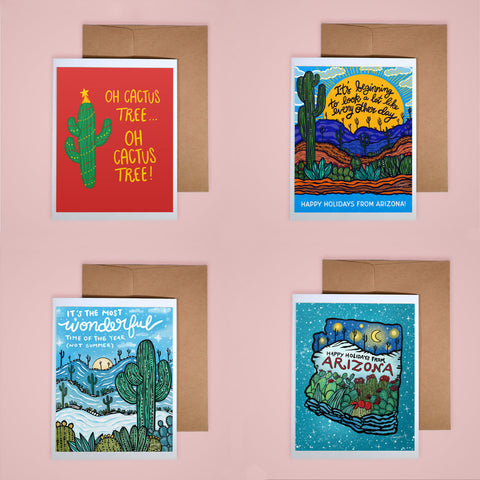 Holiday Card Set - Arizona