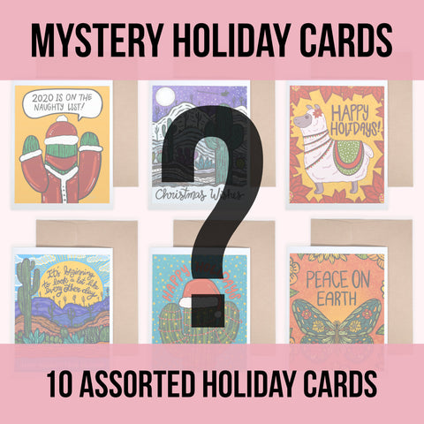 Random Card Pack - Holiday Cards