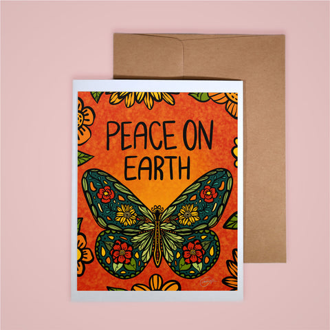 Holiday Card-Peace on Earth
